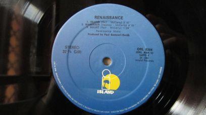 Renaissance Album Omonimo Lato 2
