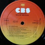 Willie Nelson Stardust Etichetta Lato 2