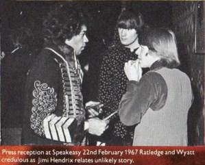 Soft Machine & Jimi Hendrix
