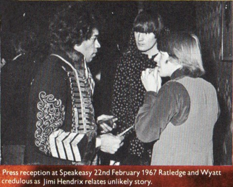 Soft Machine & Jimi Hendrix live tour USA 1968 Robert Wyatt Kevin Ayers