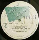 Eagles Hotel California Label Bside