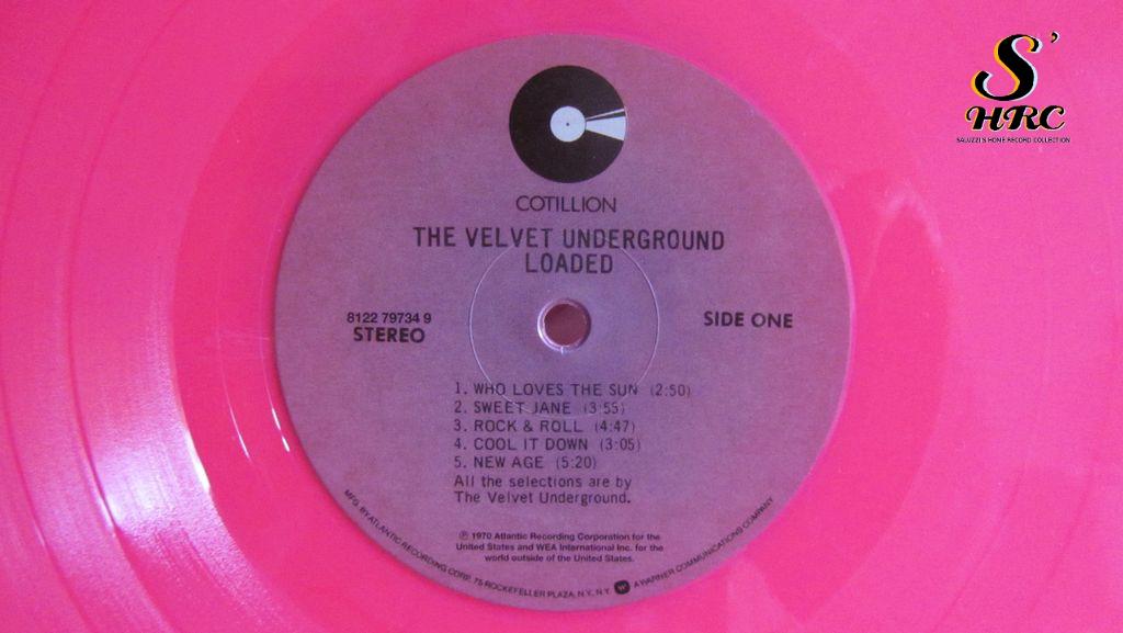 Velvet Underground, Lou Reed, pink vinyl, lp