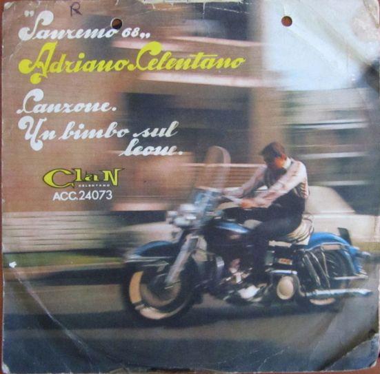 Sanremo 68, Clan Celentano, 45 giri, Italia