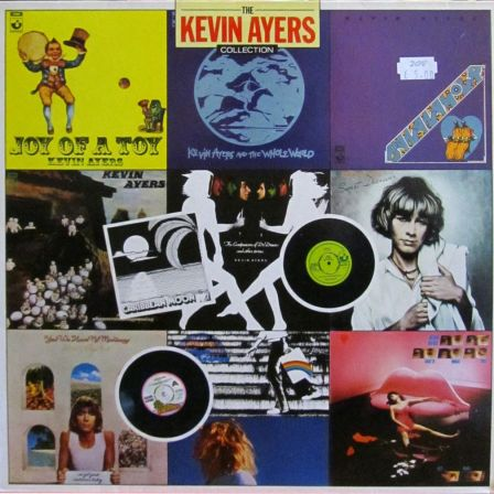 The Kevin Ayers Collection front