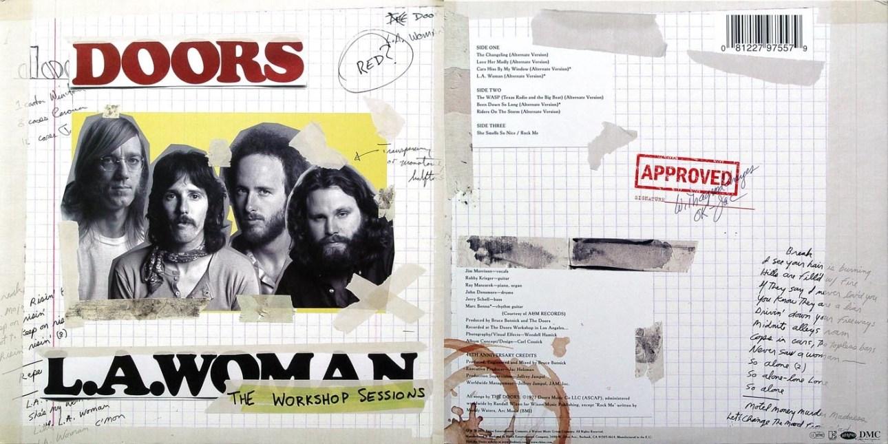 LA Woman Workshop Doors, album del 1971 e non 1972