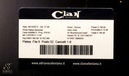 Clan Celentano, Arena di Verona