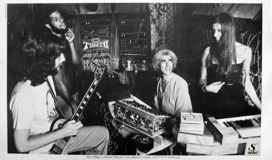 seventies photo, music, progressive, in the studio