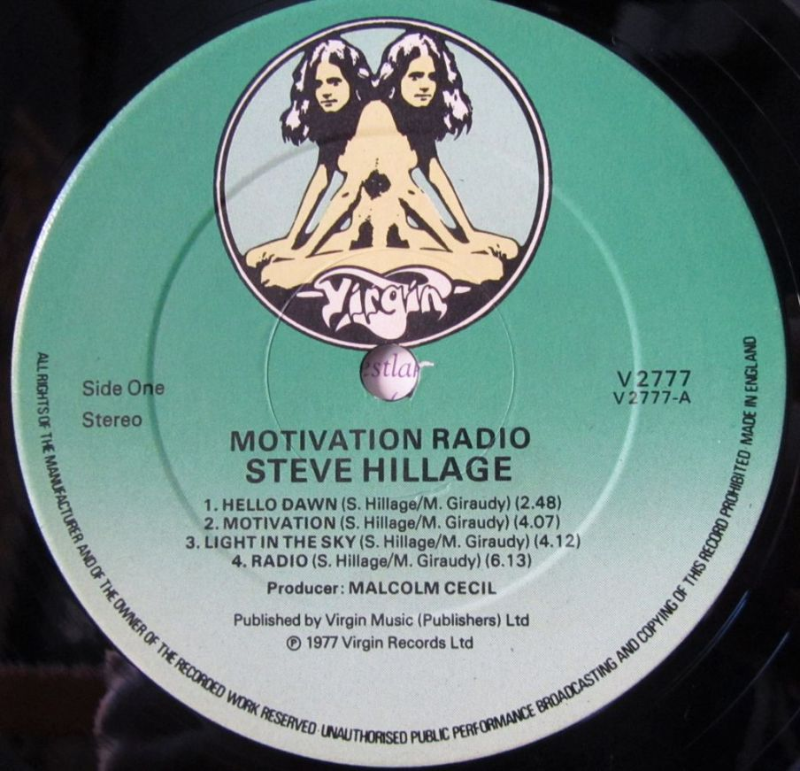label, LP, Vinile, UK