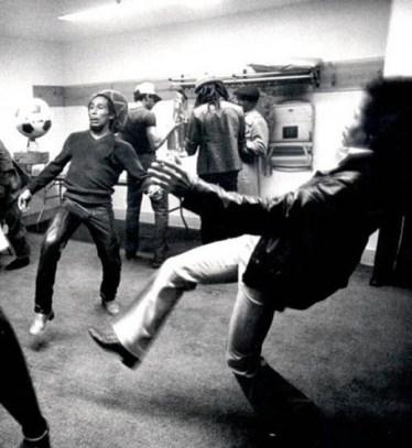 Bob Marley & Jimi Hendrix? No, this is not Jimi!!!