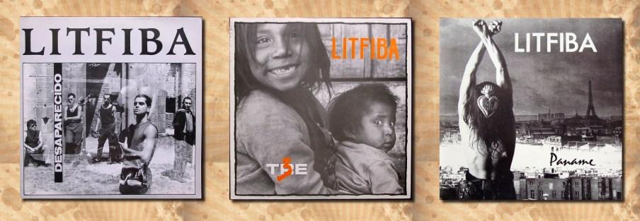 Litfiba, Desaparecido, 3, Paname, copertine album francese