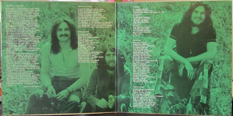 gatefold, inside, LP