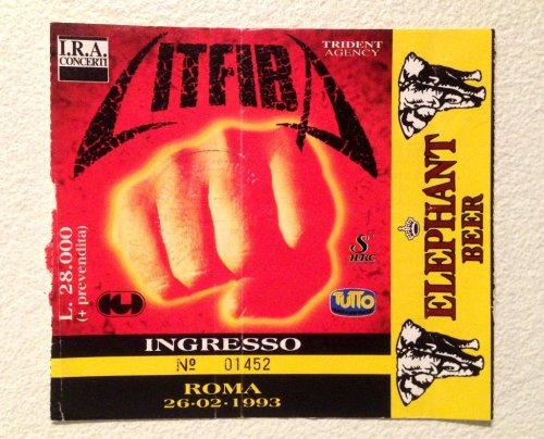 Biglietto Litfiba Terremoto tour