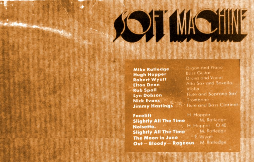 LP Robert Wyatt third soft machine
