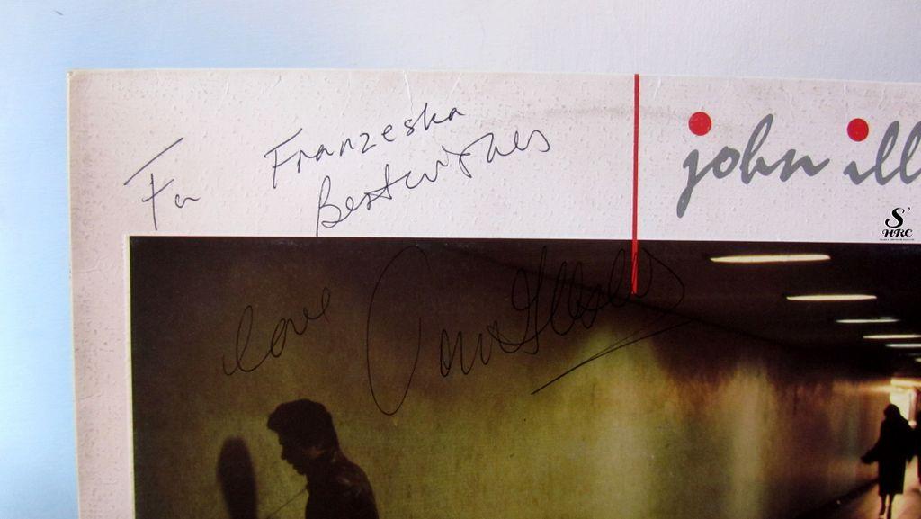Dire Straits Signed memorabilia Vinyl, signature, autograph