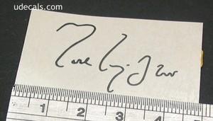 Mark Knopfler signature 1