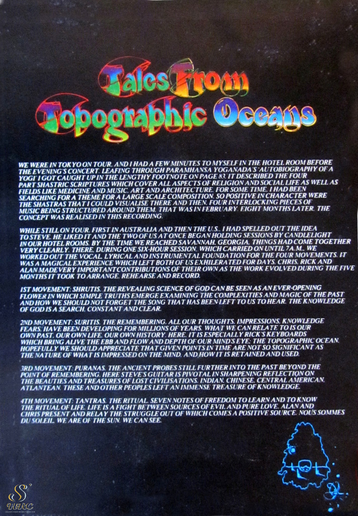 yes tales from topographic oceans Jon Anderson Talk