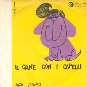 Bozzetto-Jannacci Cane con i capelli