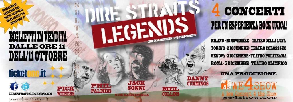 Dire Straits legends in Tour