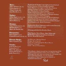 Wakeman - 6 mogli Credits