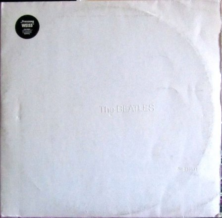 Beatles White Album Front