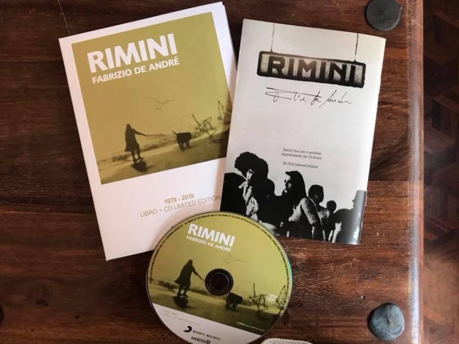 Rimini Fabrizio De Andrè rarità vinile