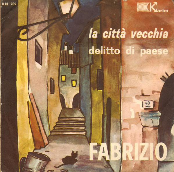 Fabrizio De Andrè rarità vinile