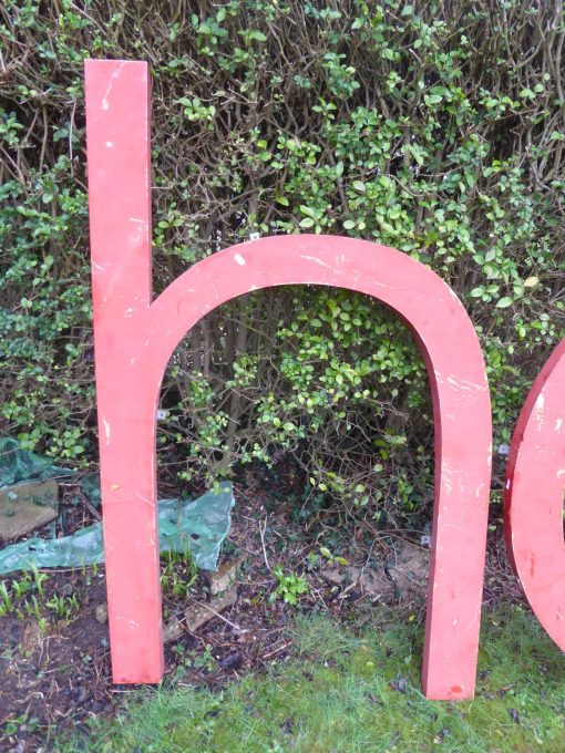 Large 3d Metal Letters Sign, Wedding, Advertising, Vintage, Industrial (4ft)