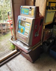 Slot Machine One Armed Bandit Flowers Bell Fruit Coin Machine