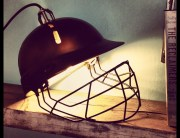 Upcycled-industrial-cricket-helmet-lamp