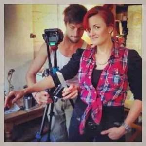 filming it
