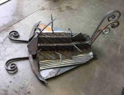 trilobite-scrap-steel-sculpture-welded-welding-weldedart-garden- scrap steel