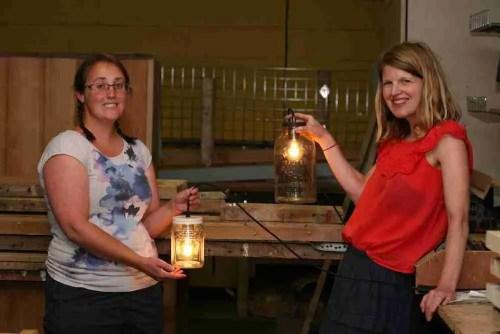 lamp making workshop class
