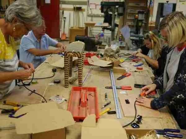Lamp making workshops