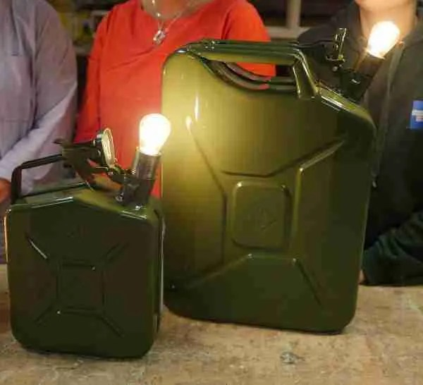 Jerry can lamps