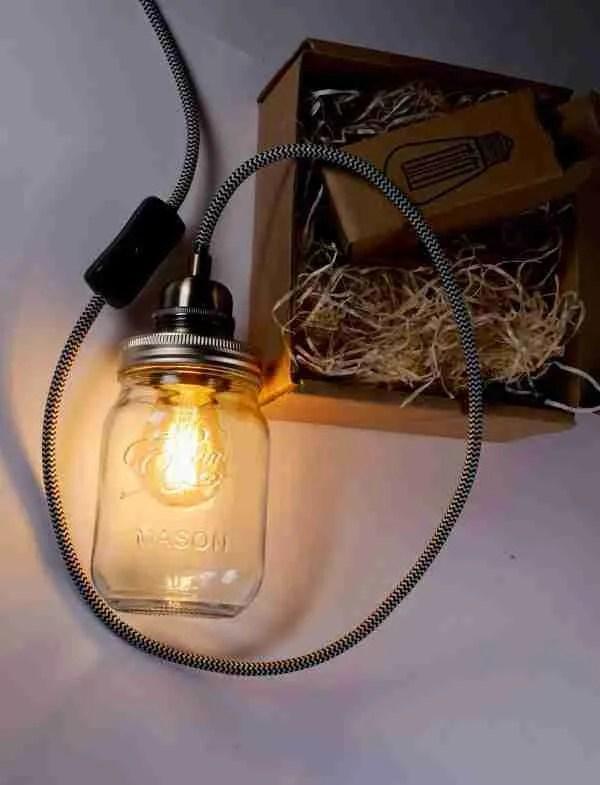 ball mason jar lamp kit