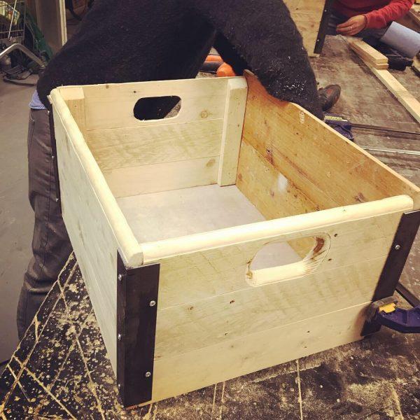 industrial box workshop in brighton at The WoodStore