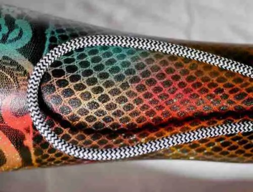 colourful Fishnet pattern lamp
