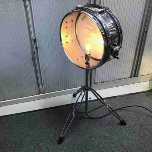 upcycled drum light