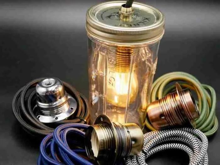 easy jam jar light