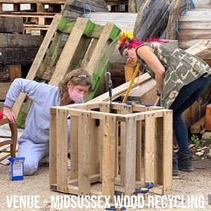 how to make something from pallets