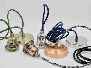 pendant lighting DIY kit for updating light fittings