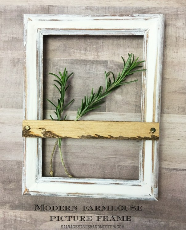 modern farmhouse picture frame