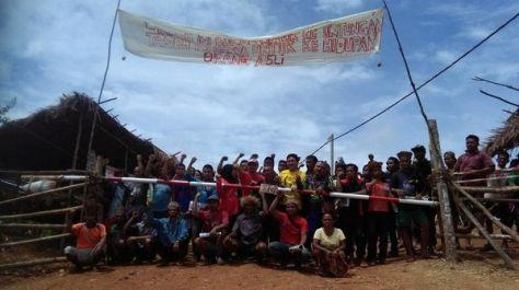 Indígenas bloquean carretera al oeste de Malasia