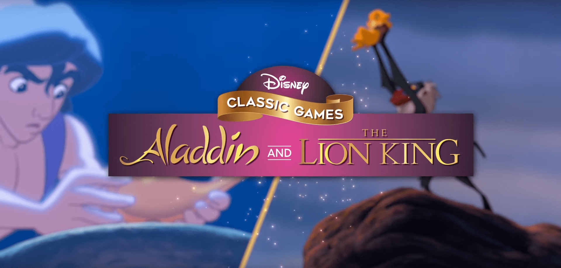 Remasterizado Aladdin The Lion King