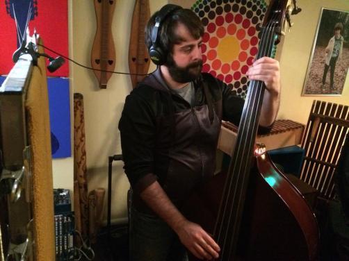 2014-12-07 Recording - Matt S. plays bass