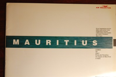 Mostra fotogr. Mauritius - catalogo