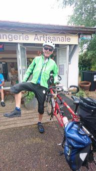 Bob avant de montrer en vélo!