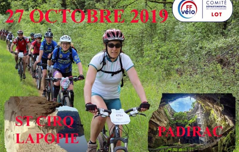 St-Cirq-Lapopie – Padirac  27/10/19