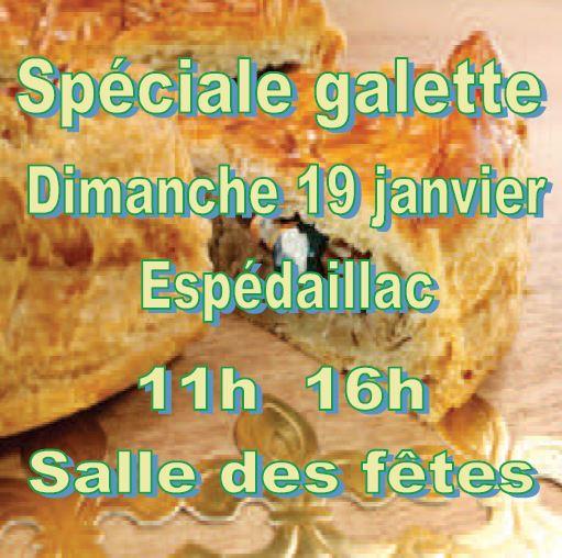 Spéciale Galette – Dimanche 19/01/20