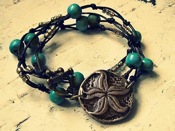 starfish wrap bracelet